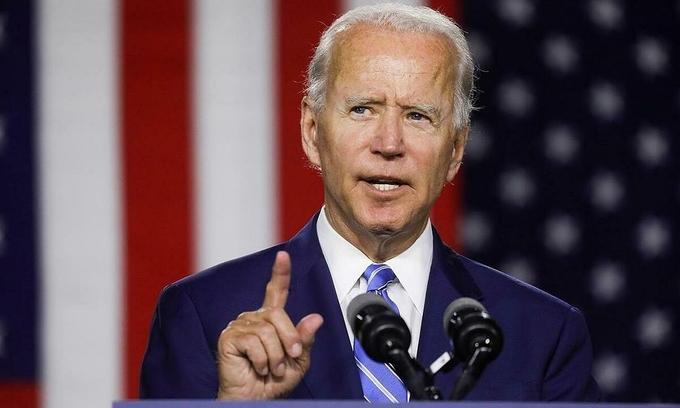 Joe Biden tại Delaware hồi tháng 7. Ảnh: Reuters.