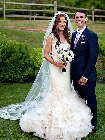 Ashley và Howard Krein kết hôn tại Delaware năm 2012. Ảnh: Nhà Trắng.