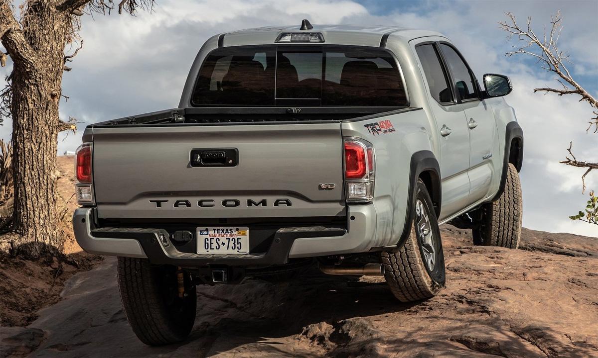 Tacoma, một trong số các sản phẩm của Toyota tại thị trường Mỹ. Ảnh: Toyota