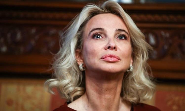 Corinna Larsen, nhân tình cũ của cựu quốc vương Tây Ban Nha Juan Carlos. Ảnh: Tass.