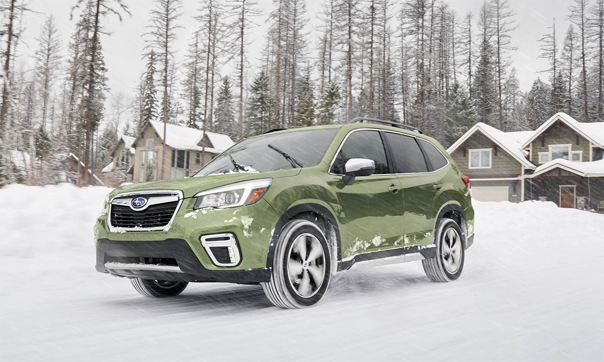 Doanh số của Forester trong năm 2020 bán được 176.996 chiếc. Ảnh: Subaru