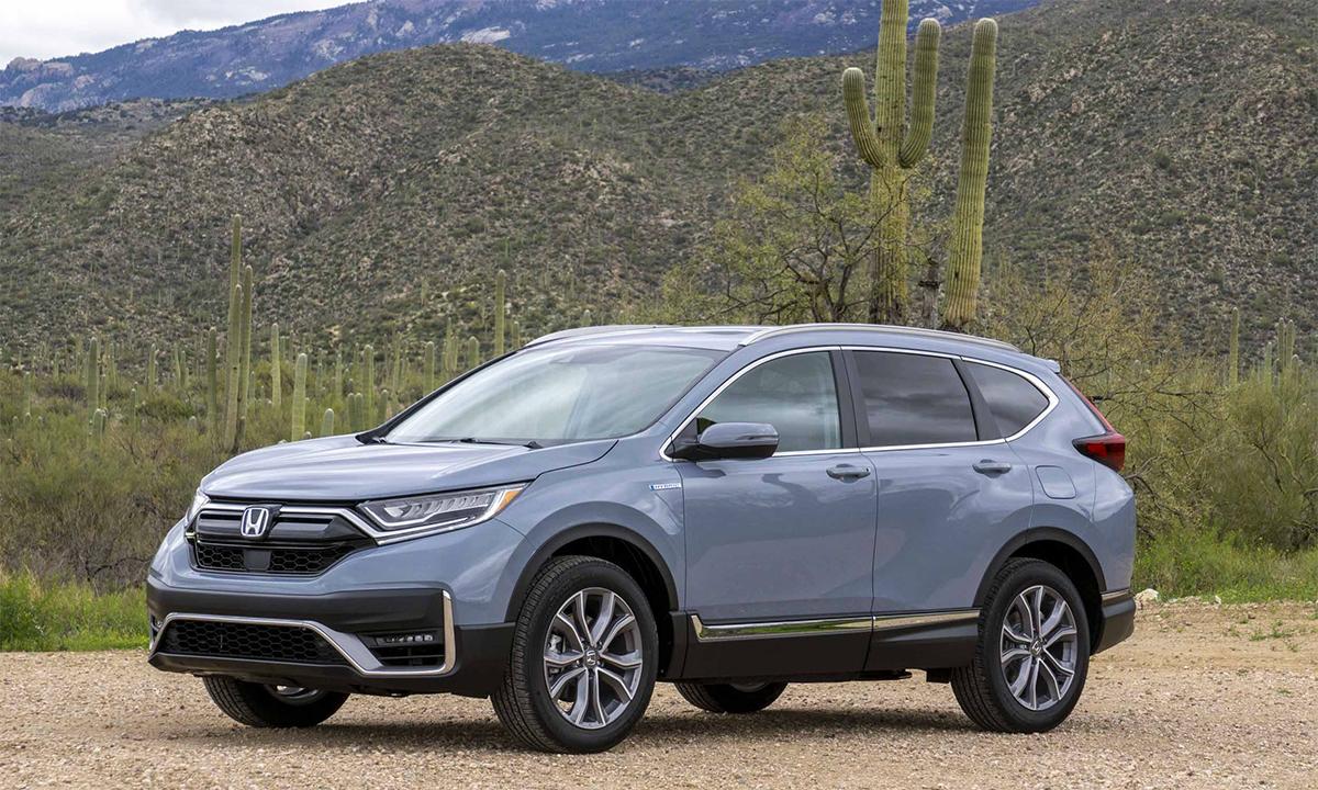 CR-V bán 333.502 xe trong năm 2020. Ảnh: Honda