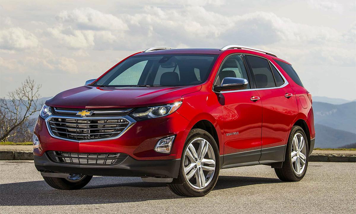 Equinox bán được 270.994 chiếc trong năm 2020, giảm 21,7% so với 2019. Ảnh: Chevrolet