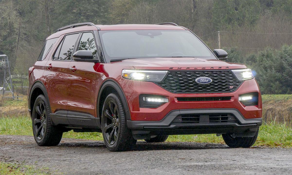 Explorer, mẫu SUV duy nhất trong danh sách có doanh số tăng gần 21% trong năm 2020. Ảnh: Ford