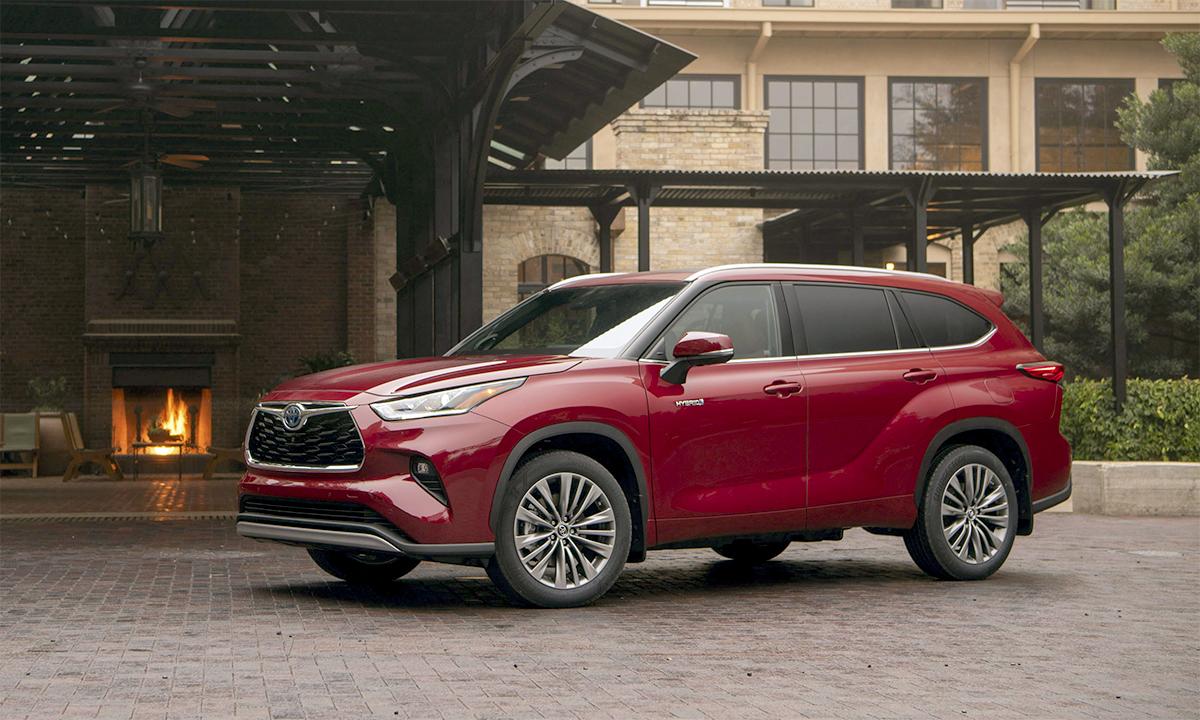 Highlander bán 212.276 xe trong năm 2020. Ảnh: Toyota