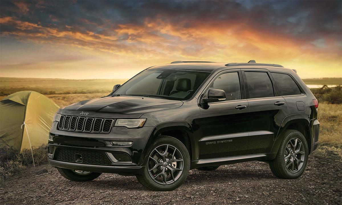 Năm 2020, Grand Cherokee bán 209.786 chiếc, giảm 13,7% so với 2019. Ảnh: Jeep