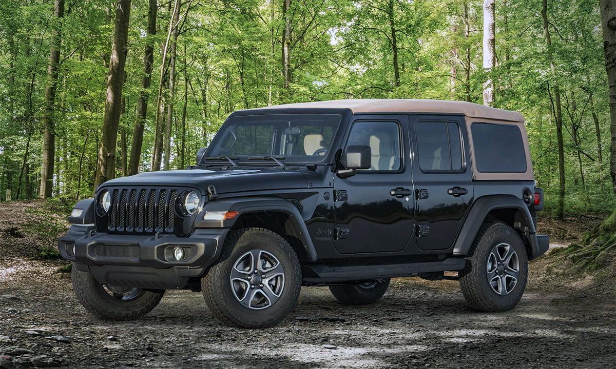 Xe off-road Wrangler bán 201.311 chiếc trong năm 2020. Ảnh: Jeep