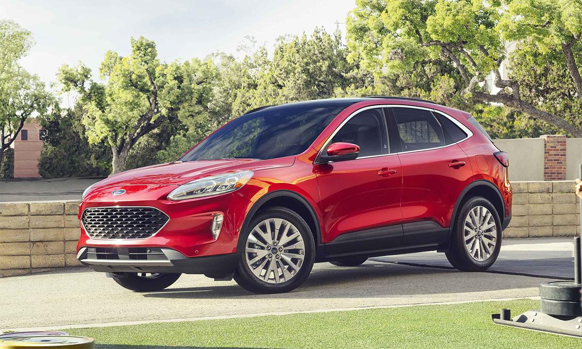 Escape thế hệ mới bán ra 178.496 xe trong năm 2020. Ảnh: Ford