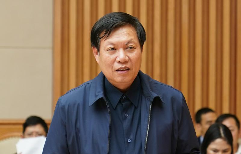 Thứ trưởng Y tế Đỗ Xuân Tuyên. Ảnh: VGP