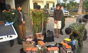 Thanh niên mua 150 kg pháo bị bắt