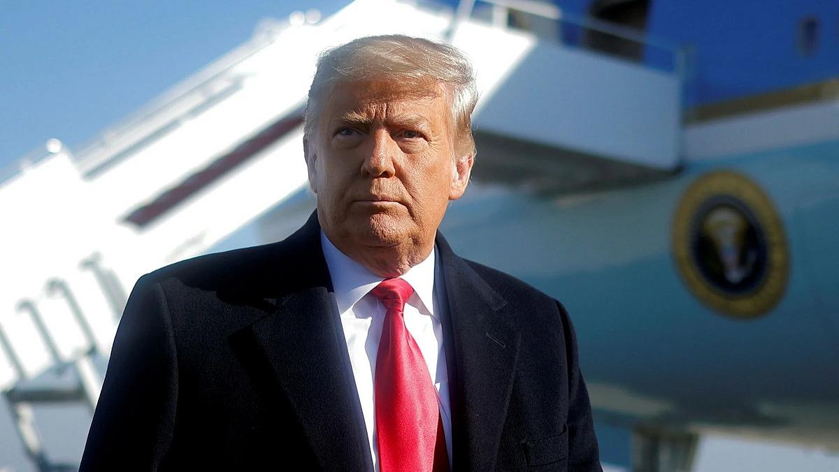 Tổng thống Donald Trump tại Maryland ngày 12/1. Ảnh: Reuters.
