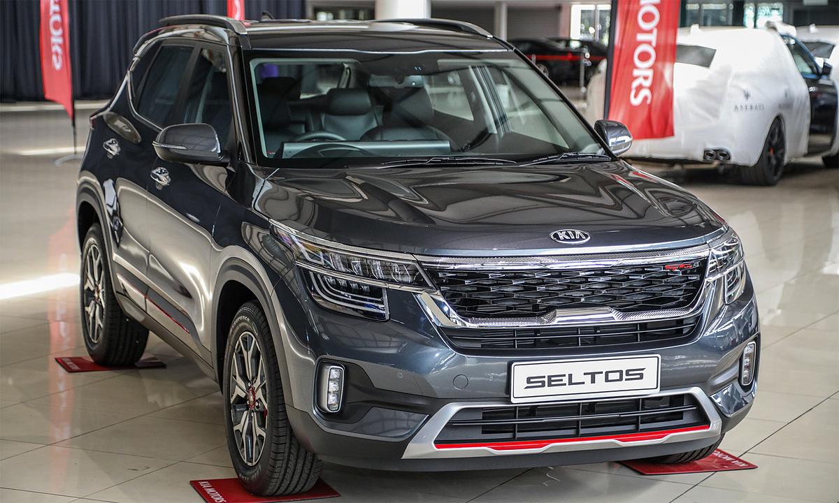 Kia Zeldos đã bán ra hai phiên bản EX và GT Line tại Malaysia.  Ảnh: Bolton