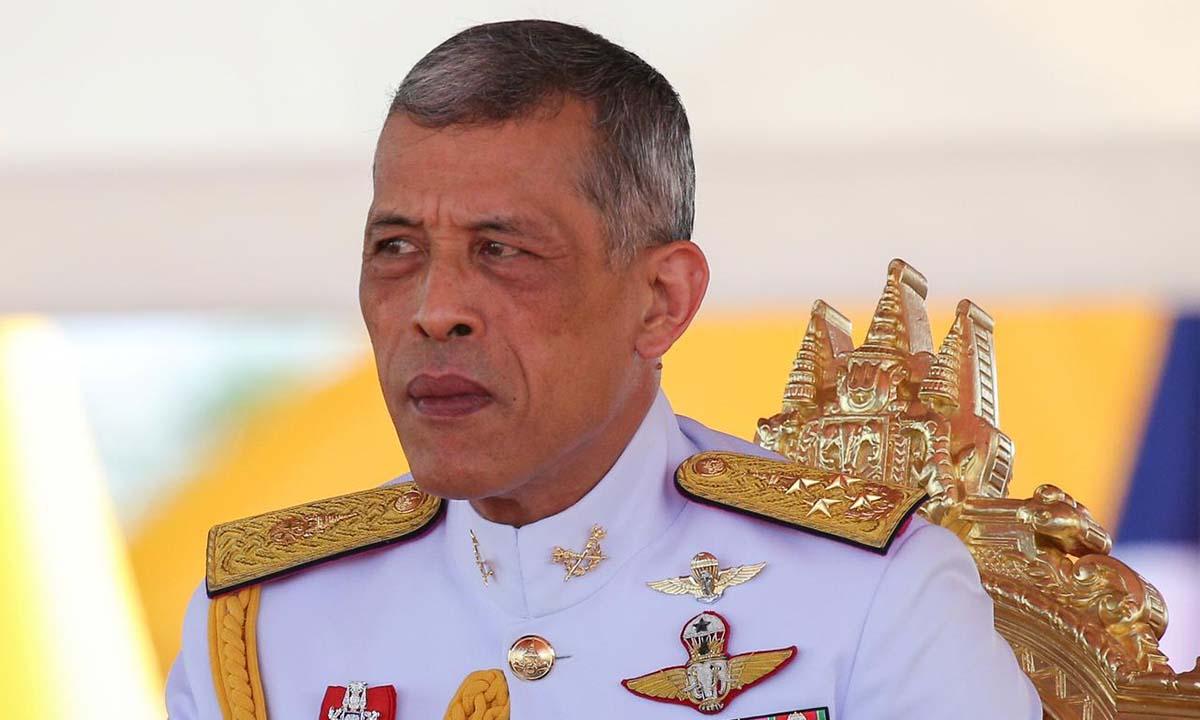 Quốc vương Thái Lan Maha Vajiralongkorn dự một buổi lễ ở Bangkok hồi tháng 5/2018. Ảnh:Reuters.
