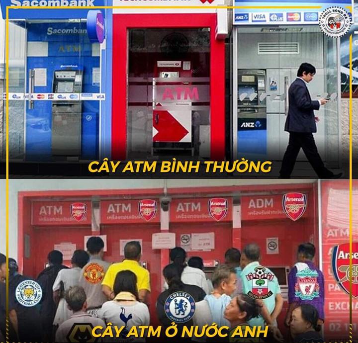 ATM điểm không mất đi, nó chỉ chuyển từ Arsenal sang Chelsea mà thôi.