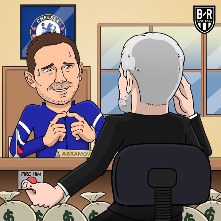 Còn Lampard thì đứng trước nguy cơ bị sa thải.