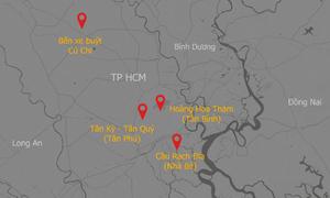 4 dự án giao thông ở Sài Gòn khởi công năm nay