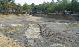 Hồ rộng 5.300 m2 nhiễm dioxin đã được xử lý