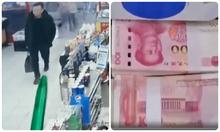 Bỏ quên 500 nghìn tệ trong siêu thị