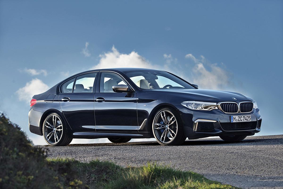 Series 5 mới. Ảnh: BMW