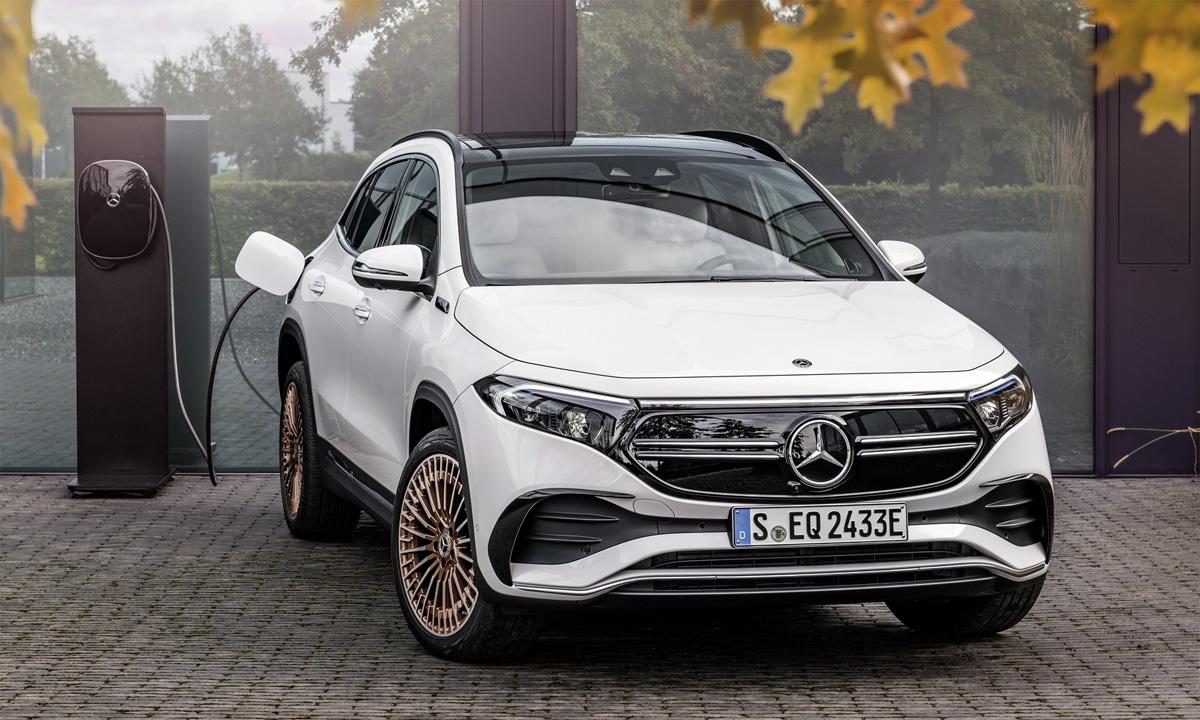 EQA250 bán ra đầu tiên tại Đức. Ảnh: Mercedes