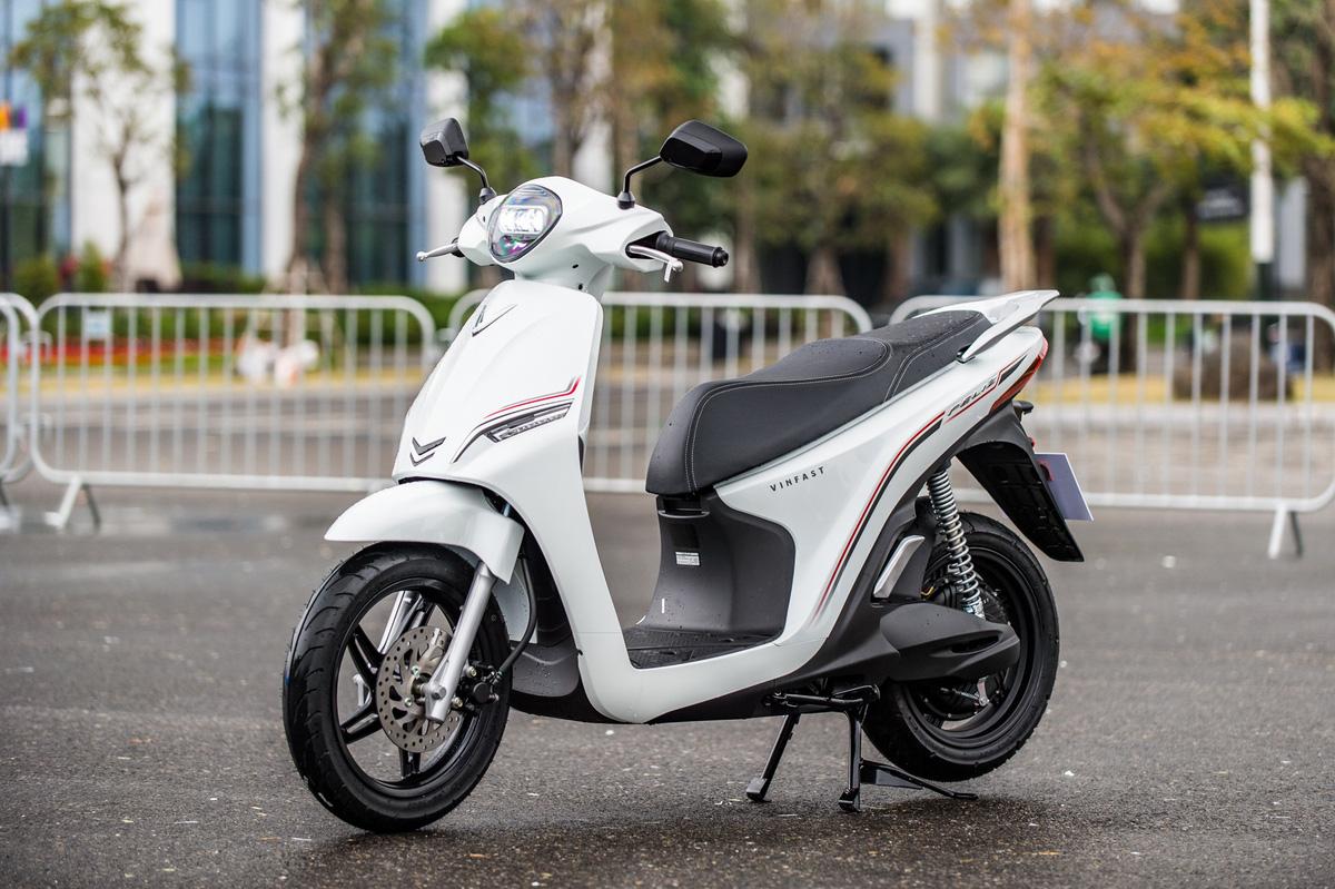 Feliz - xe máy điện thuộc phân khúc phổ thông. Ảnh: Minh Quân