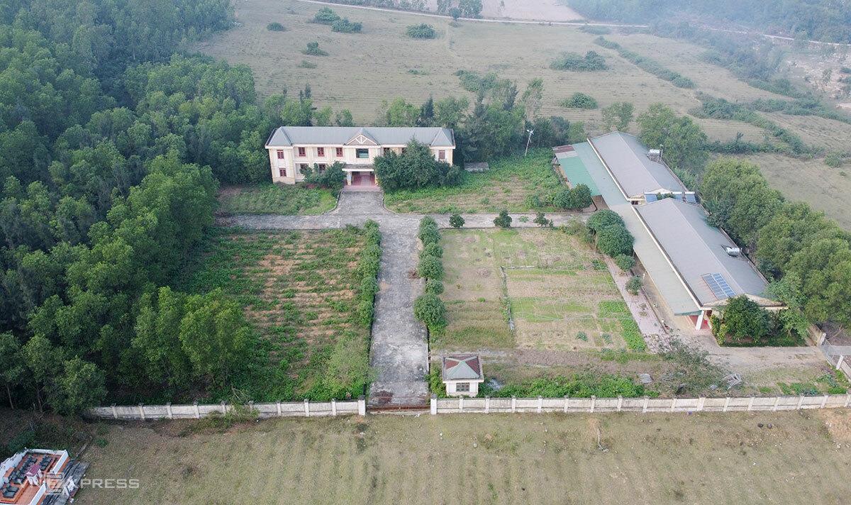 Trung tâm dạy nghề cho người khuyết tật ở xã Cương Gián, huyện Nghi Xuân. Ảnh: Đức Hùng