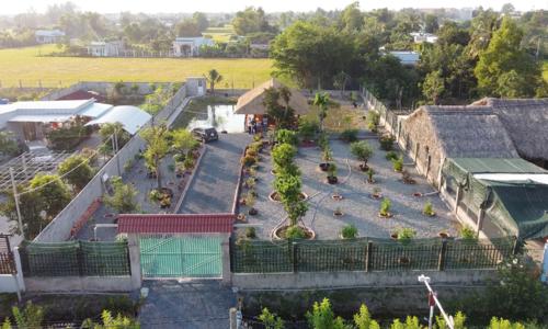 Xây nơi nghỉ dưỡng rộng 1.500 m2 tặng ba mẹ