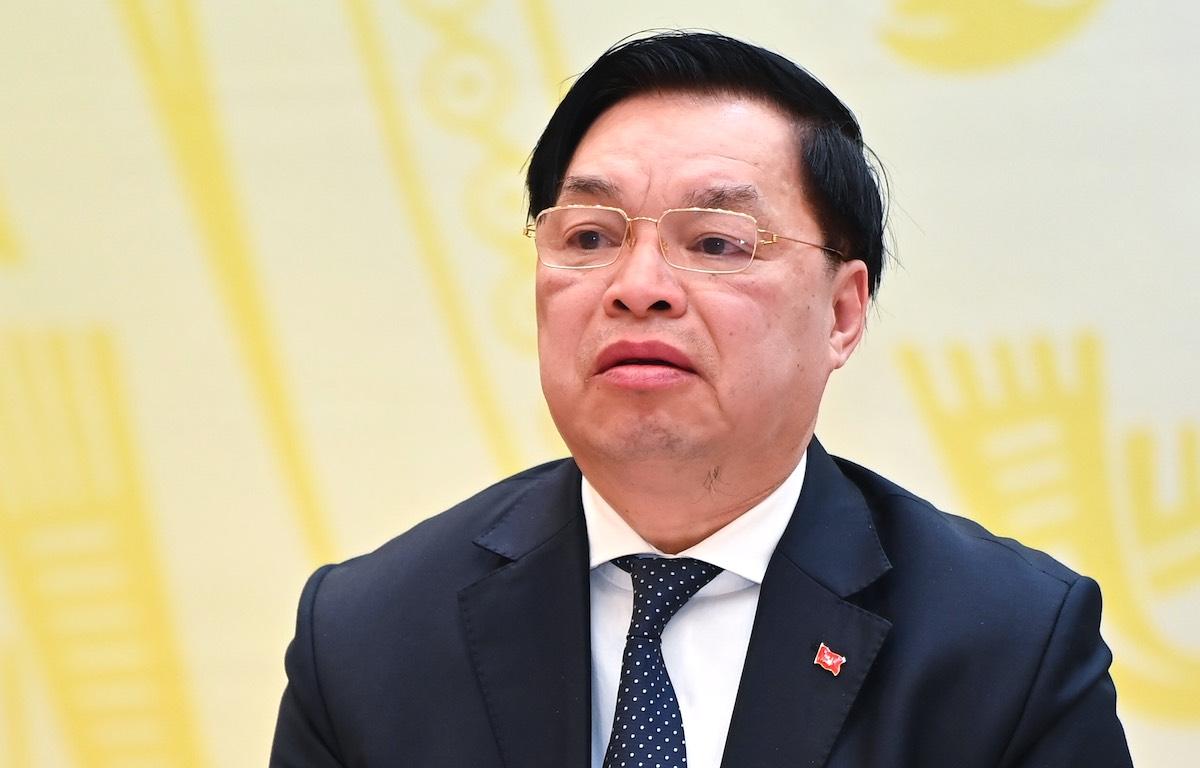 Ông Lê Mạnh Hùng, Phó trưởng Ban Tuyên giáo Trung ương. Ảnh: Giang Huy