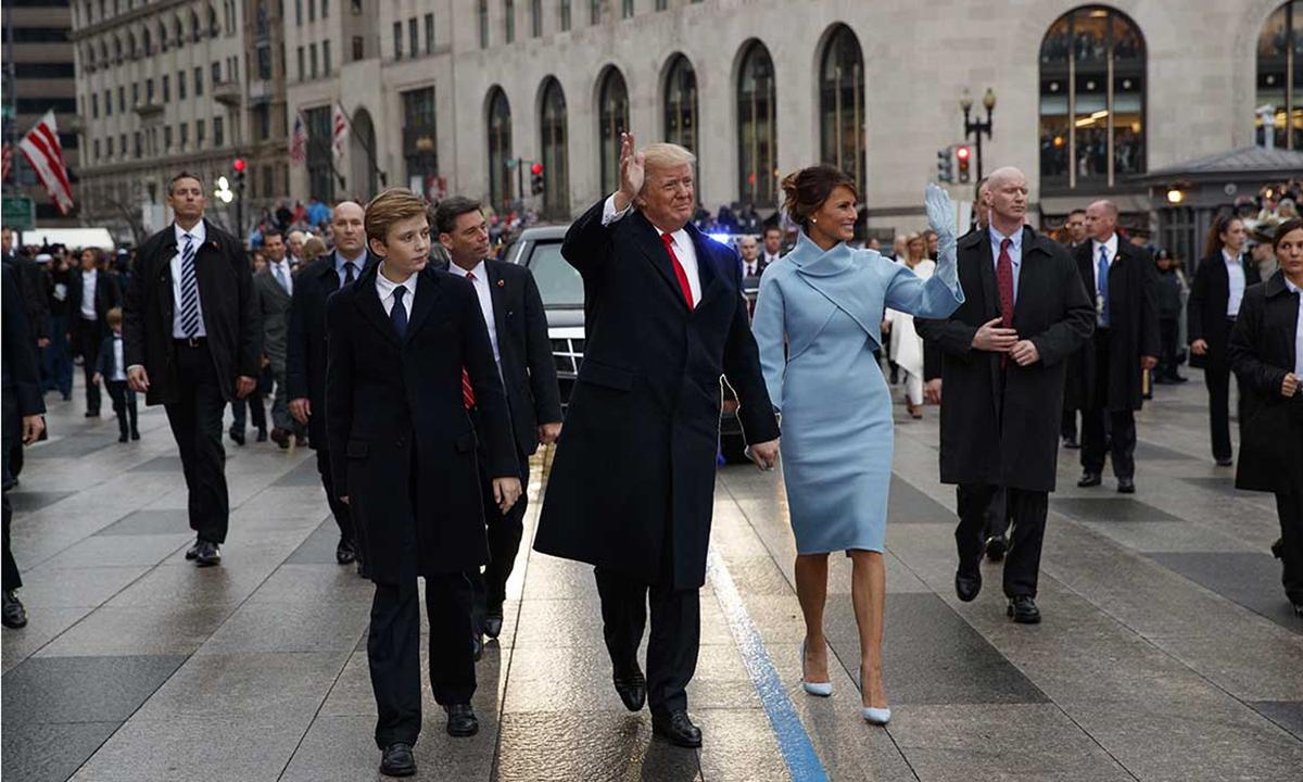 Gia đình tổng thống Donald Trump