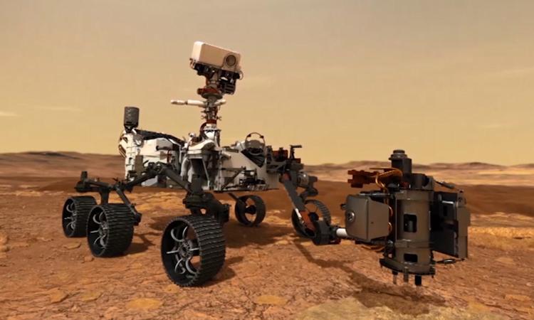 Robot Perseverance sẽ giúp các nhà khoa học nghe những âm thanh ngoài hành tinh. Ảnh: NASA.
