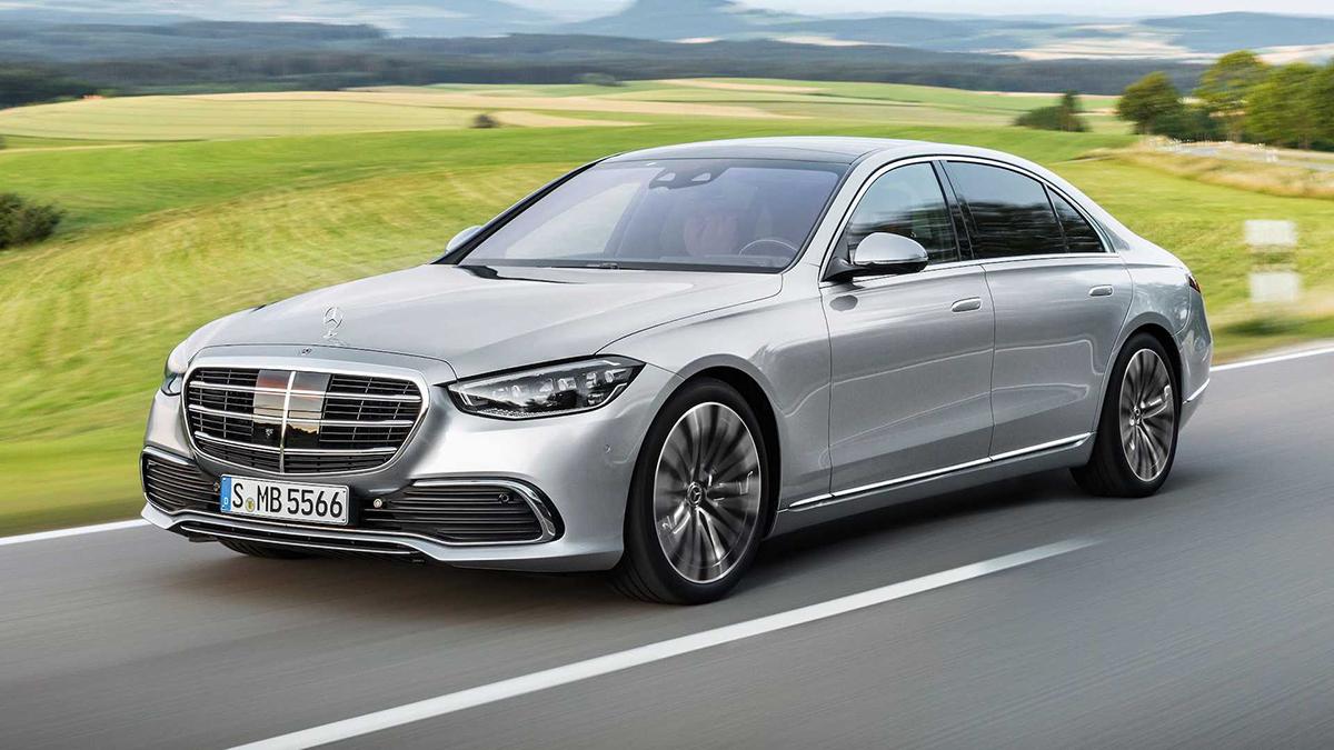 Mẫu S-Class mới. Ảnh: Mercedes