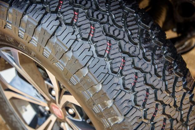 Thiết kế đường vân trên dòng lốp MT.