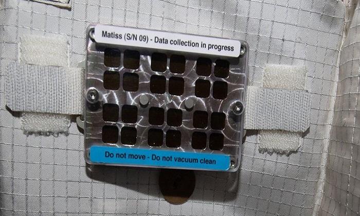 Nơi đặt thí nghiệm MatISS trong khoang Columbus. Ảnh: ESA.
