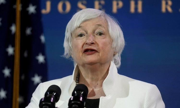 Tân Bộ trưởng Tài chính Mỹ Janet Yellen. Ảnh: Reuters.