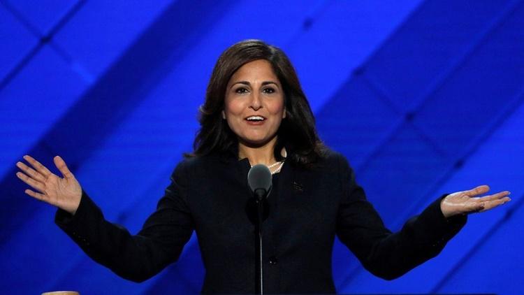 Tân lãnh đạo Văn phòng Quản lý và Ngân sách Mỹ Neera Tanden. Ảnh: Reuters.
