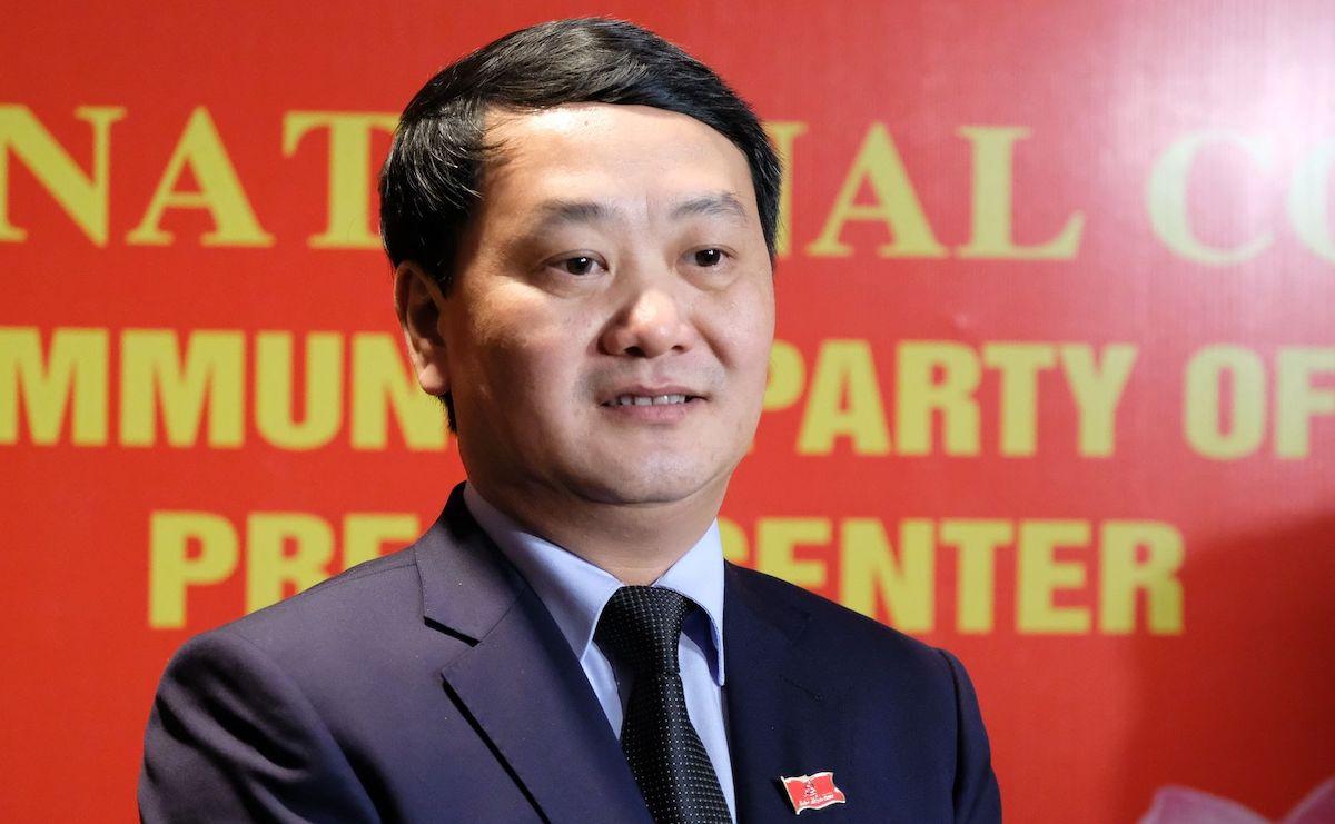 Ông Hầu A Lềnh, Phó chủ tịch, Tổng thư ký Uỷ ban Trung ương MTTQ VN. Ảnh: Hoàng Thùy