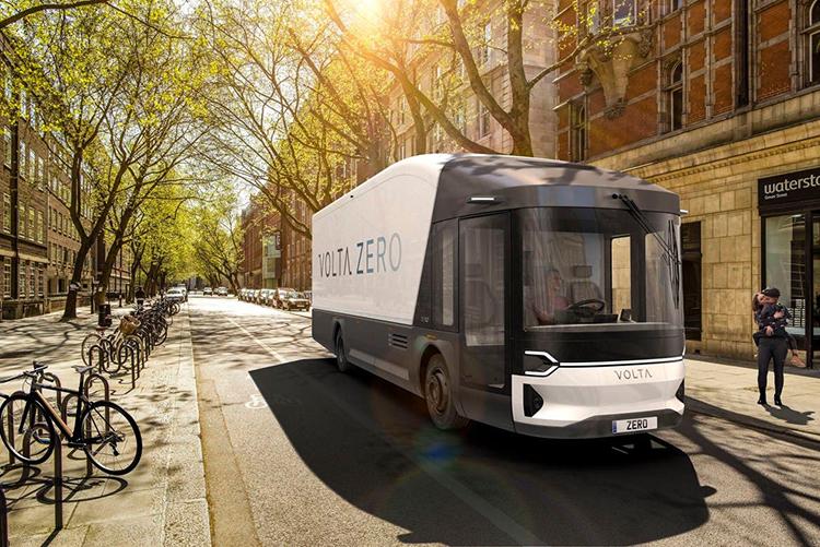 Xe tải điện đô thị Volta Zero. Ảnh: Volta Truck.
