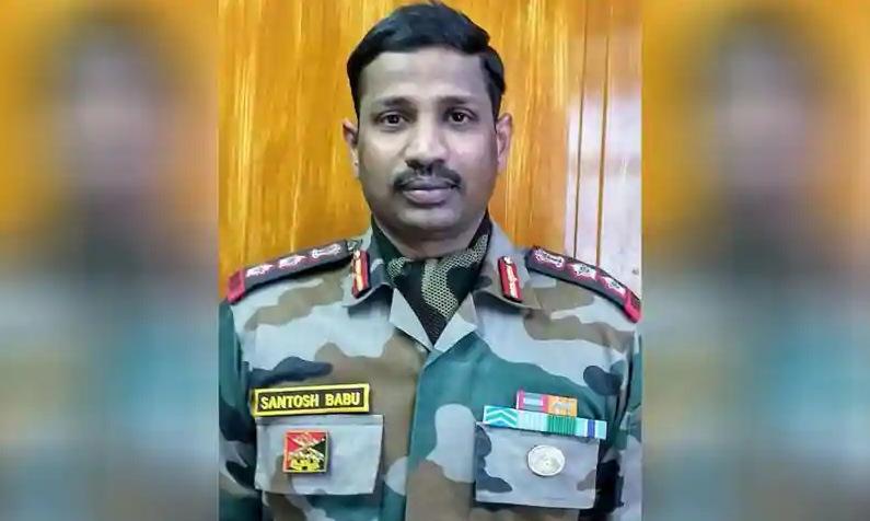 Đại tá Bikkumalla Santosh Babu khi còn sống. Ảnh: ANI.