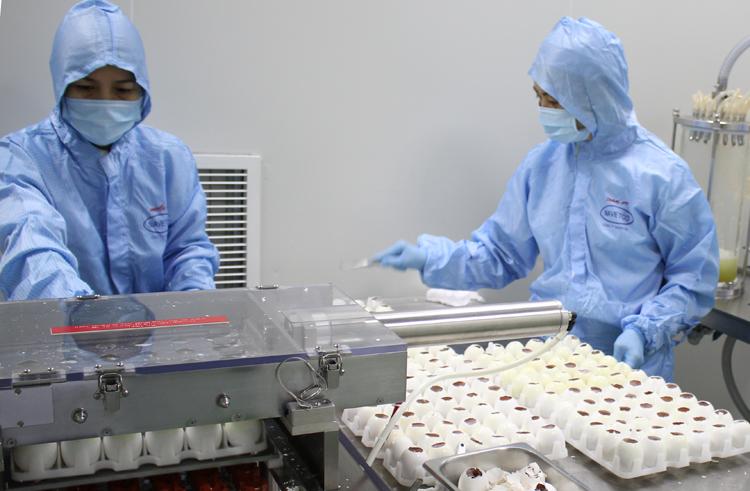 Công nghệ sản xuất vaccine. Ảnh: NAVETCO.