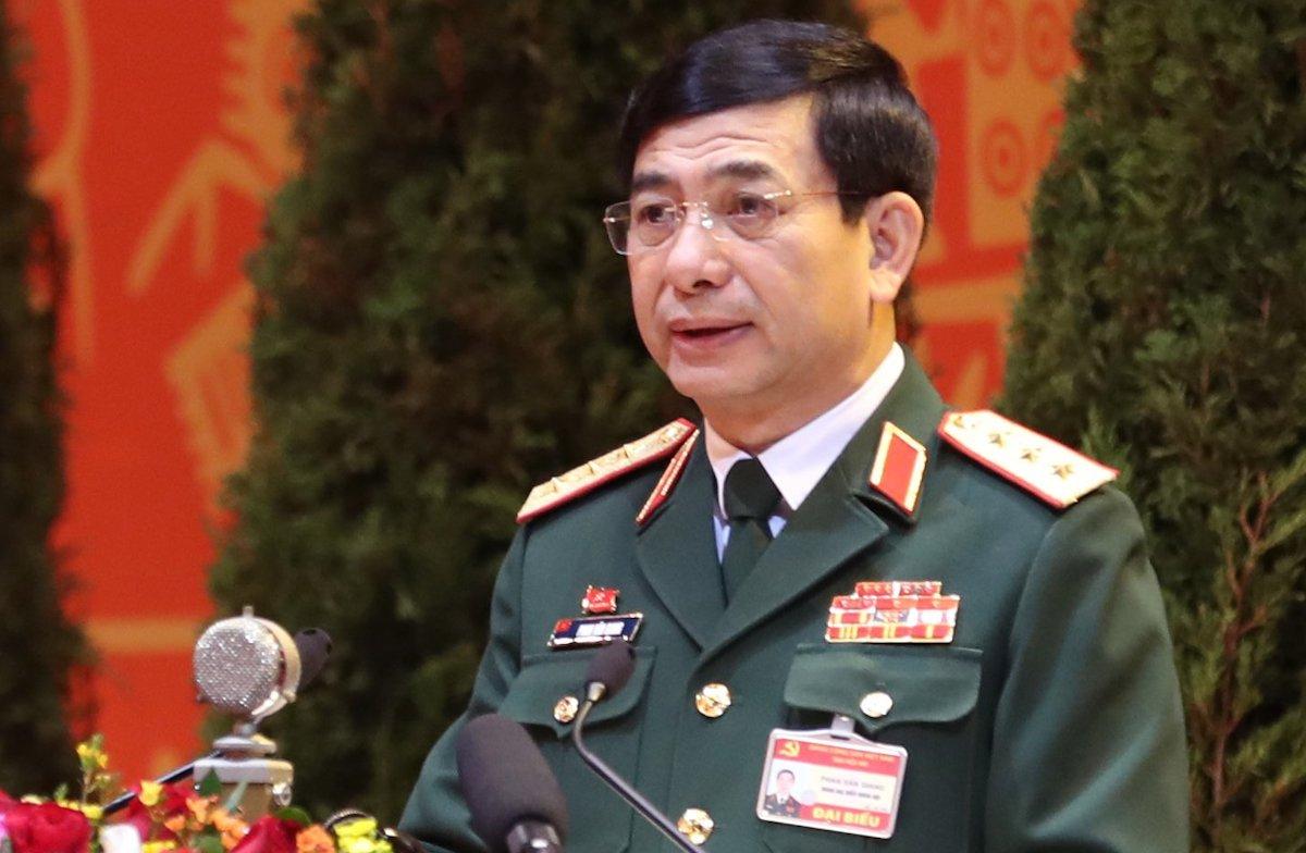 Thượng tướng Phan Văn Giang, Uỷ viên Trung ương Đảng, Tổng tham mưu trưởng QĐND VN, Thứ trưởng Quốc phòng. Ảnh: Hoàng Thùy