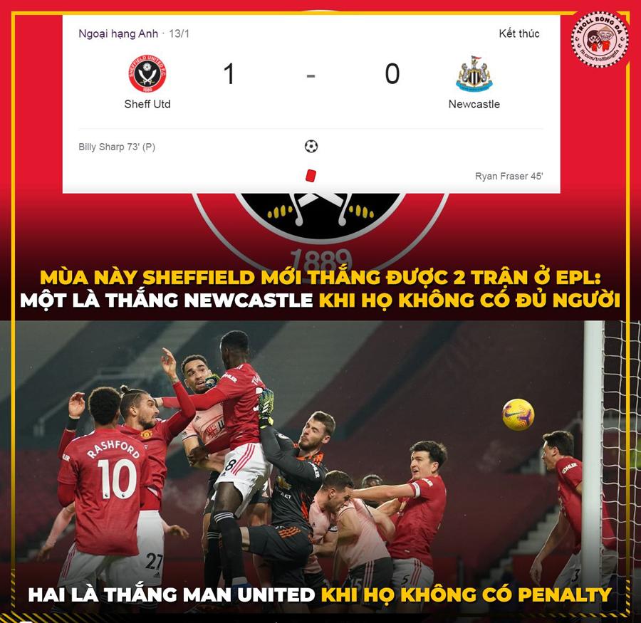 Có Penalty là mọi chuyện khác rồi.