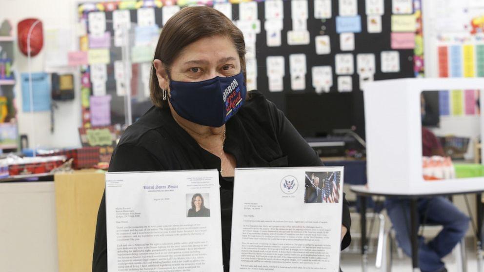 Cô Martha Tavarez, giáo viên trường Mẫu giáo Barron, thành phố El Paso, bang Texas, Mỹ: Ảnh: Good Morning America