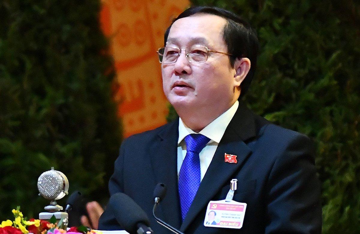 Uỷ viên Trung ương Đảng, Bộ trưởng Khoa học và Công nghệ Huỳnh Thành Đạt. Ảnh: Giang Huy