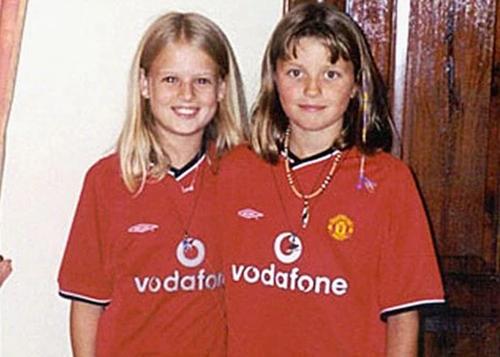 Bức ảnh cuối cùng của Jessica Chapman và Holly Wells. Ảnh: