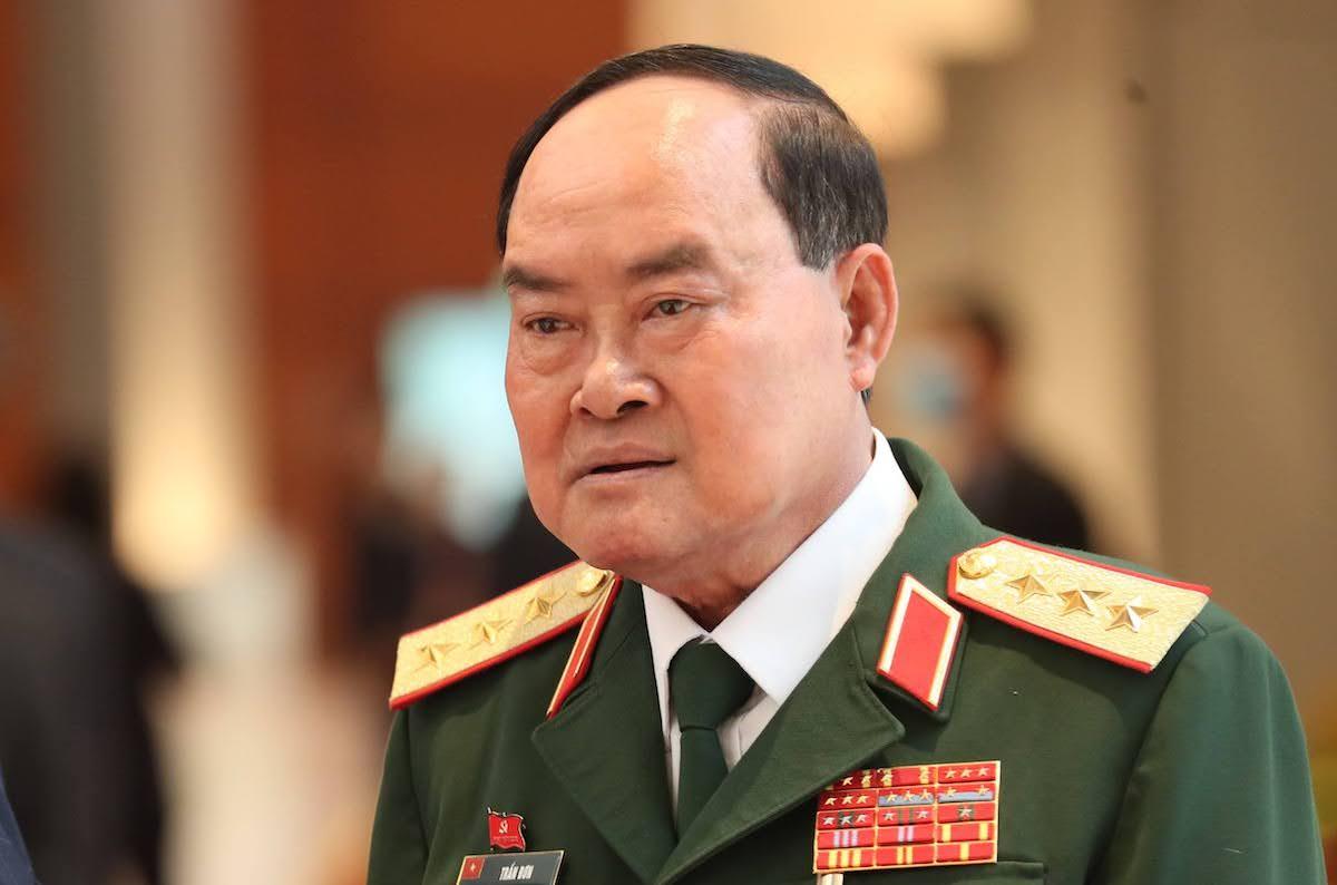 Thượng tướng Trần Đơn, Thứ trưởng Quốc phòng. Ảnh: Hoàng Phong