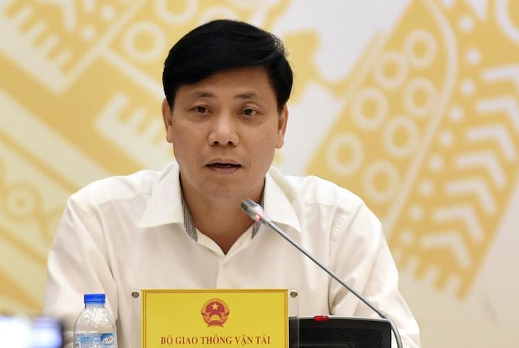 Thứ trưởng Giao thông Vận tải Nguyễn Ngọc Đông. Ảnh: VGP