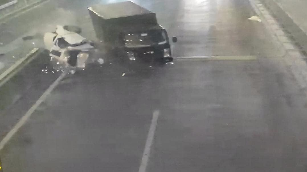 May mắn tai nạn  không có thiện hại về người.