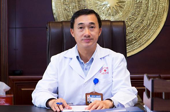 Thứ trưởng Y tế Trần Văn Thuấn. Ảnh: Bộ Y tế