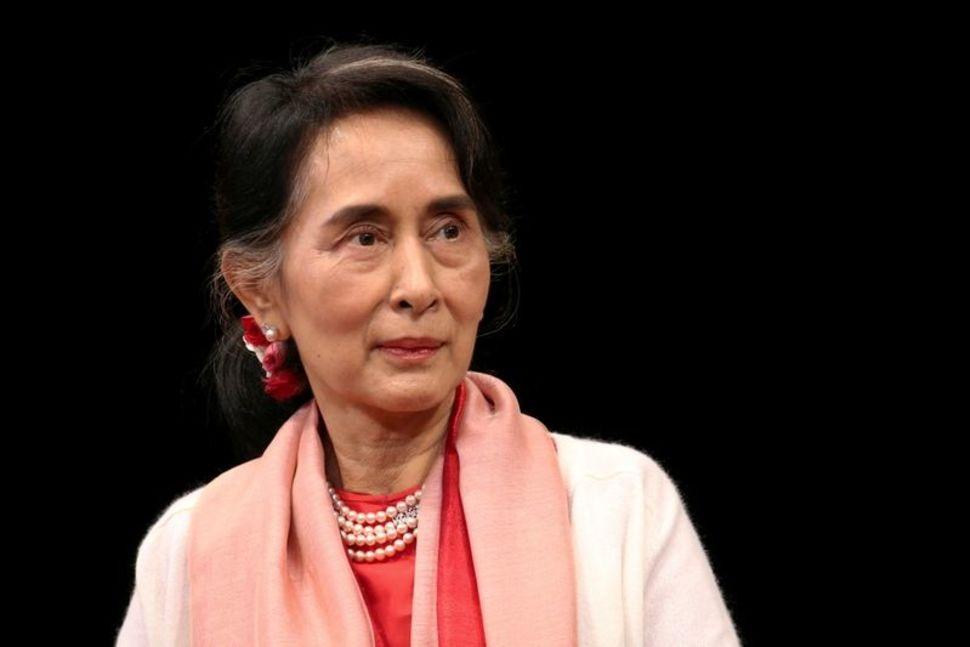 Aung San Suu Kyi tại New York tháng 9/2016. Ảnh: Reuters.