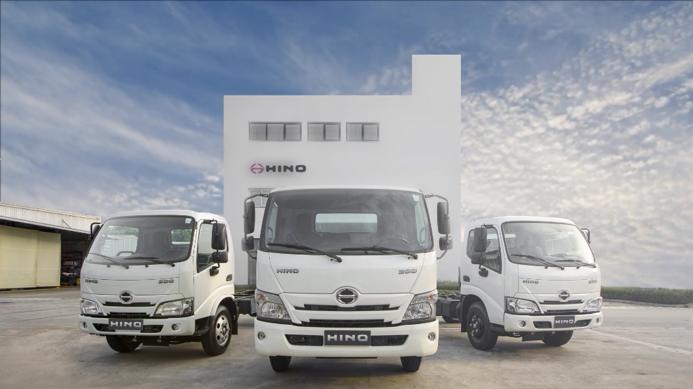 Dòng xe tải nhẹ Hino Series 300 mới. Ảnh: Hino Motors Việt Nam.